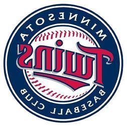 12 STICKERS Minnesota Twins  Baseball Vinyl Car Bumper Windo