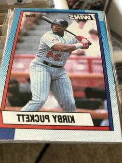 1990 Topps Baseball Card Team Packs : Minnesota Twins, Pucke