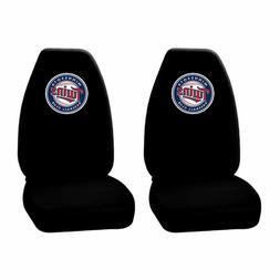 New 2 piece MLB Minnesota Twins Black Front High back Seat C