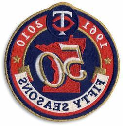 2010 Minnesota Twins 50th Anniversary Patch - Official MLB L