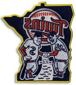 2010 Minnesota Twins State Jersey Sleeve Patch New Logo Embl
