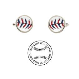 2014 All Star Game Ball Cufflinks Authentic Official On Fiel
