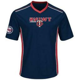 $45 Minnesota Twins t shirt jersey mens performance v neck N
