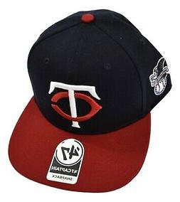 '47 Brand Mens Minnesota Twins Baseball Captain Snapback Hat