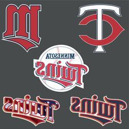 """5"""" 10"""" 15"""" 20"""" + Minnesota TWINS TC Baseball Car Window Truc"""