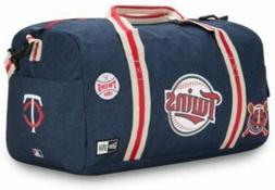 Minnesota Twins New Era Heritage Patch Small Duffel Bag Gym