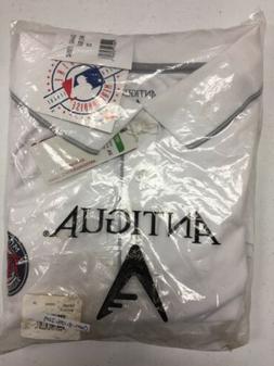 ANTIGUA Men's White/Silver MINNESOTA TWINS BASEBALL CLUB ELI