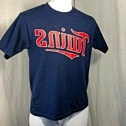 Majestic Blue Minnesota Twins MLB Youth T-Shirt Size S M L N
