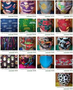 Comfort Mask / Cubre Boca, NEW, 2-ply 100% Cotton, Large, Sm