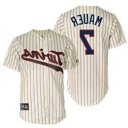 Majestic Joe Mauer Minnesota Twins MLB Men's Replica Alterna