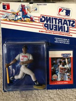 KIRBY PUCKETT MINNESOTA TWINS Starting Lineup MLB SLU 1988 F