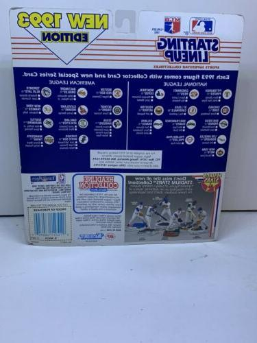 1993 - Starting Lineup / MLB Mack - 2 Trading Cards