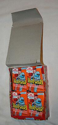 DONRUSS 1990 BASEBALL CARD PACKS OF 31 UNOPENED PACKS WITH R