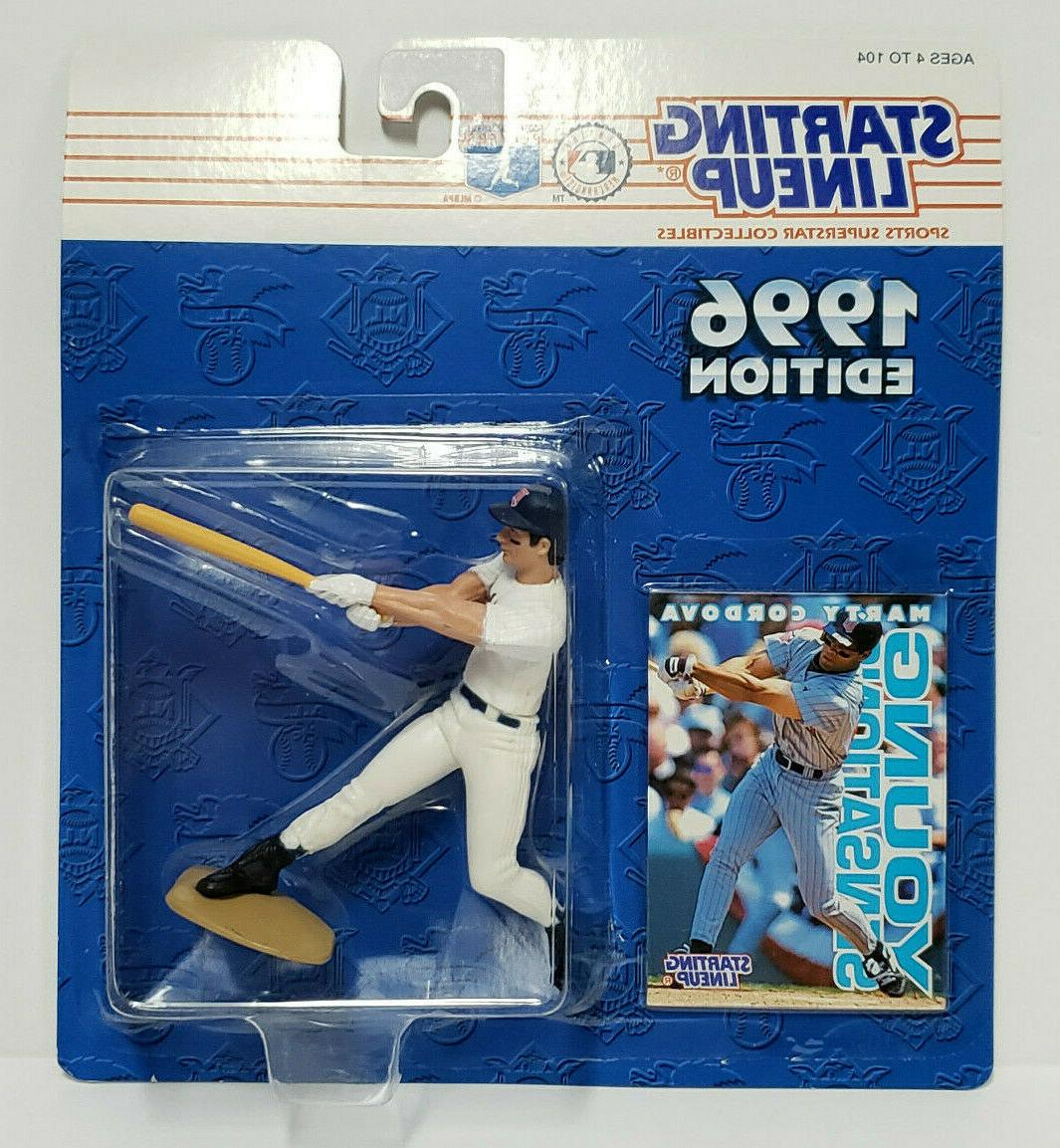 marty cordova minnesota twins kenner starting lineup