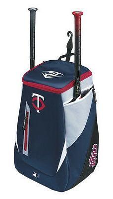 Minnesota Twins Louisville Slugger Baseball Bag Backpack Bat