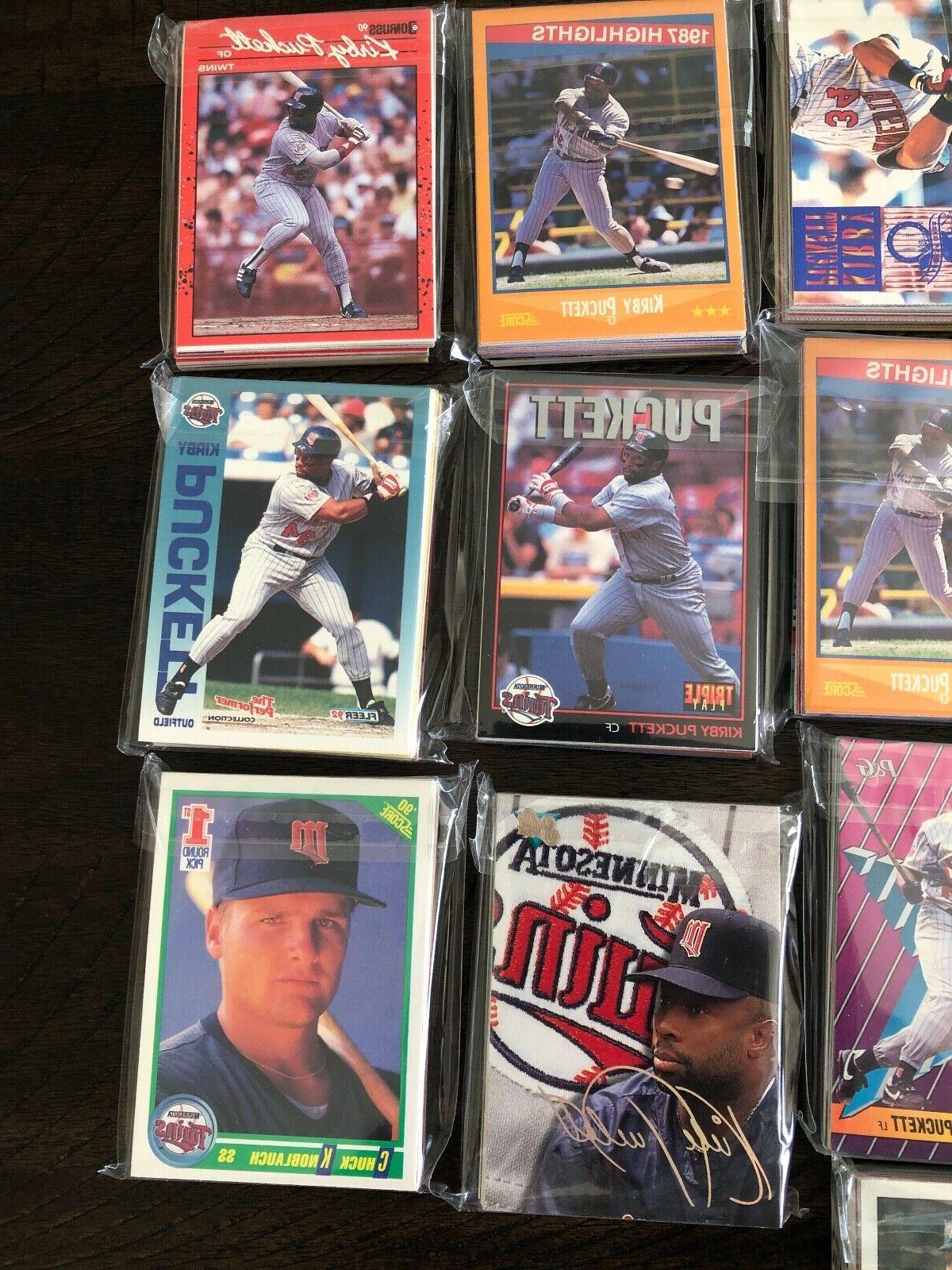 Minnesota Baseball Pack 30 Topps UD