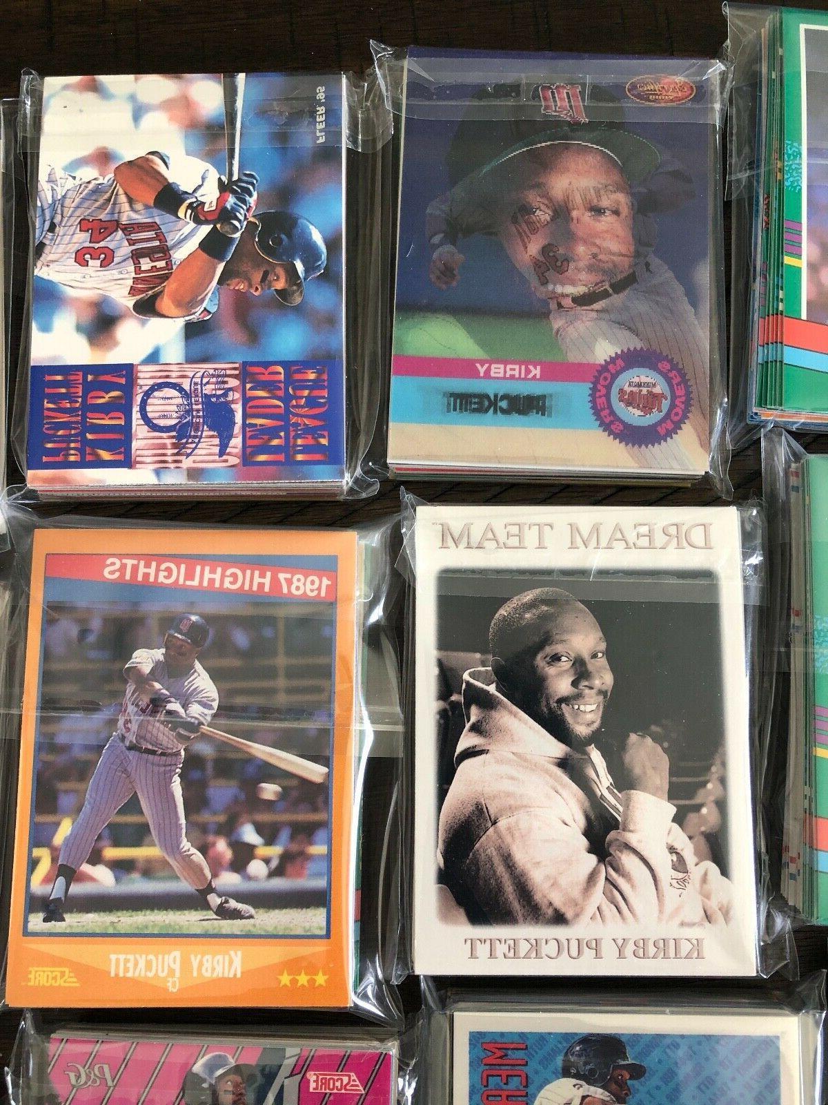 Minnesota Baseball Pack of 30 Topps Donruss UD