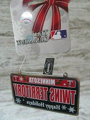 MINNESOTA Baseball LICENSE PLATE Forever Collectibles NEW