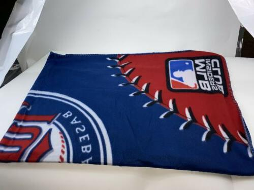 Minnesota Twins MLB Insiders Club Licensed Plush Blanket