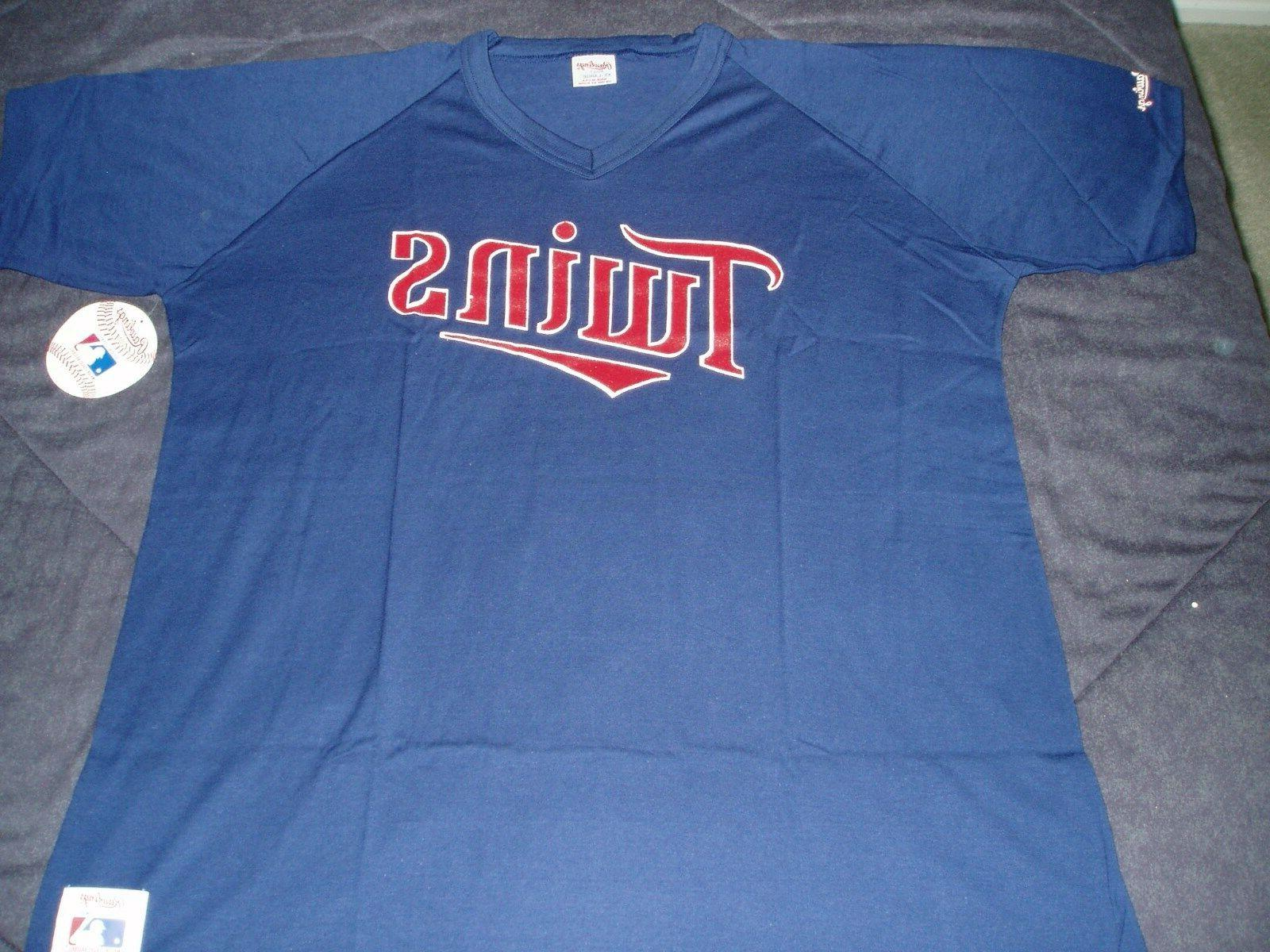minnesota twins nwt al central pullover jersey
