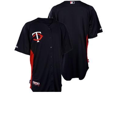 mlb authentic cool base minnesota twins baseball