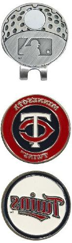 MLB Minnesota Twins 2 MKR Cap Clip, Navy