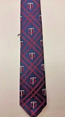 MLB Minnesota Twins Team Neck Tie  NEW