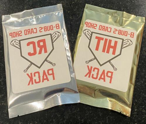 new baseball mystery packs two packs per