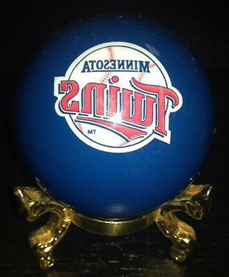 pool billiards minnesota twins cue ball baseball