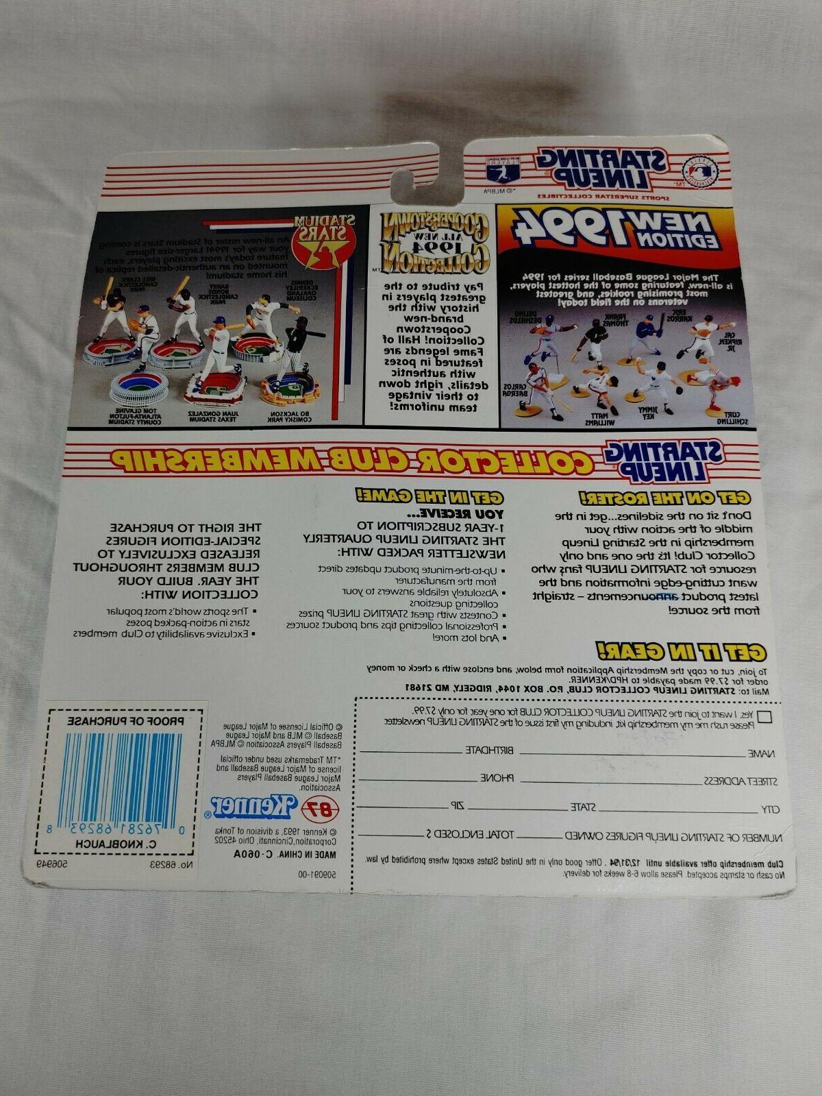 Starting Lineup 1994 and Minnesota MLB