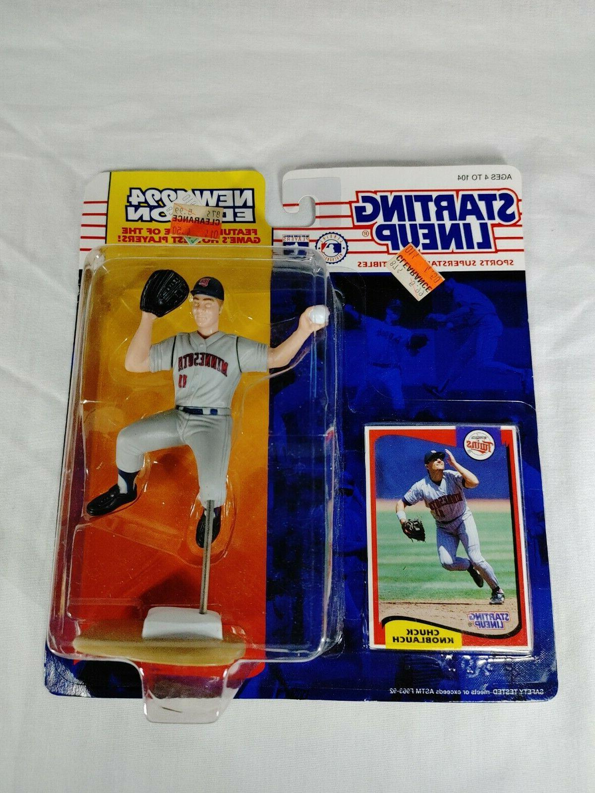starting lineup 1994 figure and card chuck