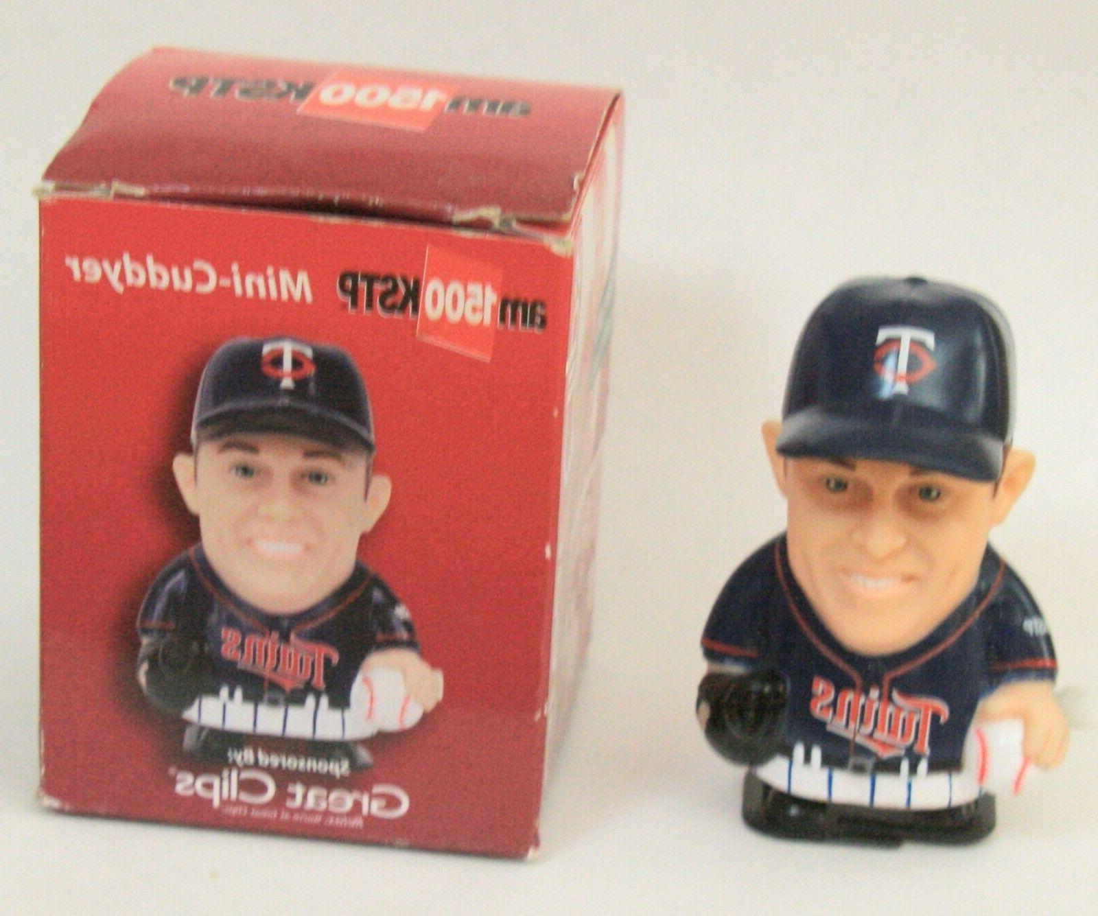 Vintage Minnesota Twins Cuddyer Mini toy figure
