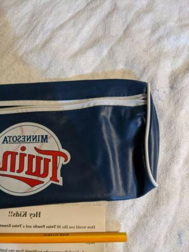 Vintage NOS MLB Zipper Pouch