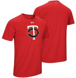 Under Armour Men's Minnesota Twins Team Core Jersey Shirt
