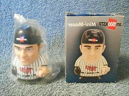 MINI MAUER MINNESOTA TWINS WIND UP ACTION FIGURE TOY JOE MAU