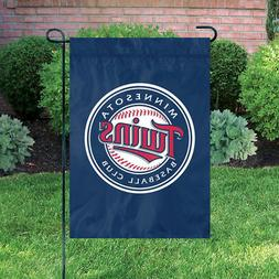 """Minnesota Twins 18"""" x 12 1/2"""" Applique and Embroidered Garde"""