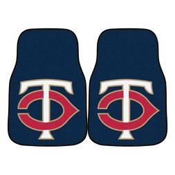 Minnesota Twins 2-Piece Carpet Car Auto Floor Mats