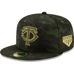 Minnesota Twins New Era 2019 Armed Forces Day On-Field 59FIF