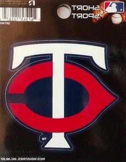 """Minnesota Twins 3"""" Flat Vinyl Sport Die Cut Decal Bumper Sti"""