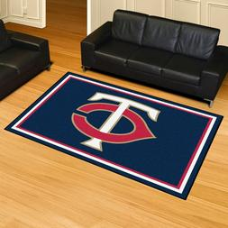 Minnesota Twins 5' X 8' Decorative Ultra Plush Carpet Area R