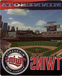 Minnesota Twins 50x60 MLB Stadium Streak  Royal Plush Rasche