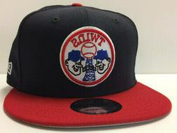 Minnesota Twins New Era 9FIFTY MLB Snapback Hat Cooperstown