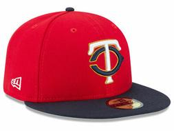 New Era Minnesota Twins ALT 2 59Fifty Fitted Hat  MLB Cap
