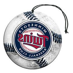 Minnesota Twins Baseball Air Freshener Nu-Car Scent 3 Pack C