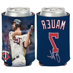 Minnesota Twins Can Cooler 12 oz. Joe Mauer Koozie