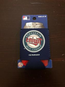 Minnesota Twins CAN Koozie Neoprene Holder Cooler Coolie Bas