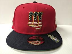 Minnesota Twins New Era Cap 9Fifty Snapback MLB 4th of July