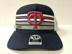 Minnesota Twins 47 Brand Cap Mesh Adjustable Snapback Altitu