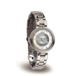Minnesota Twins Charm Watch with Stainless Steel Band