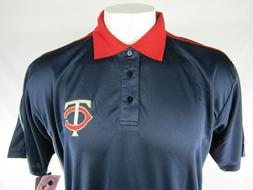 Minnesota Twins CoolBase Men's Blue & Red Polo Shirt Big & T